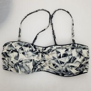Athleta 34 B/C Swimsuit Top Razor back Bikini